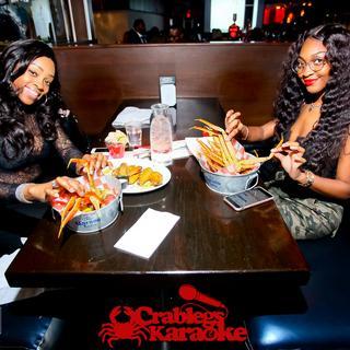 Crablegs & Karaoke Happy Hour